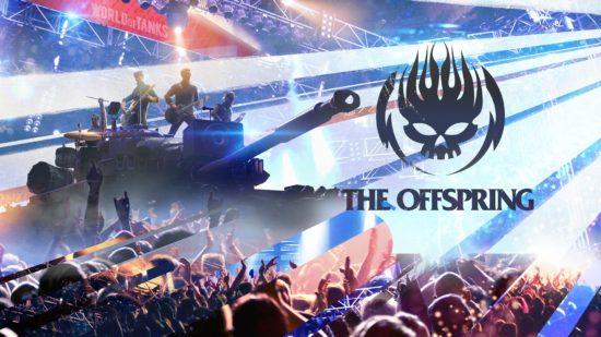 PC版「World of Tanks」で世界的パンク・ロックバンド「OFFSPRING」が期間限定でゲーム内ステージに登場