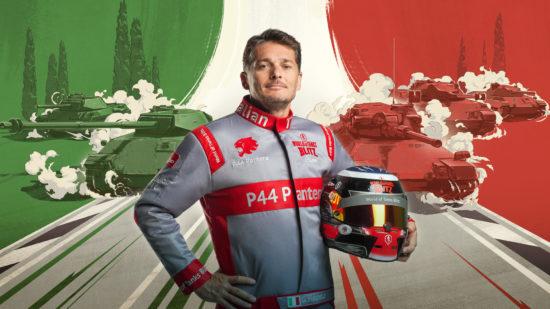 「World of Tanks Blitz」に新たなヨーロッパ車両が登場、伝説F1レーサー「ジャンカルロ・フィジケラ」氏がブランドアンバサダーに就任