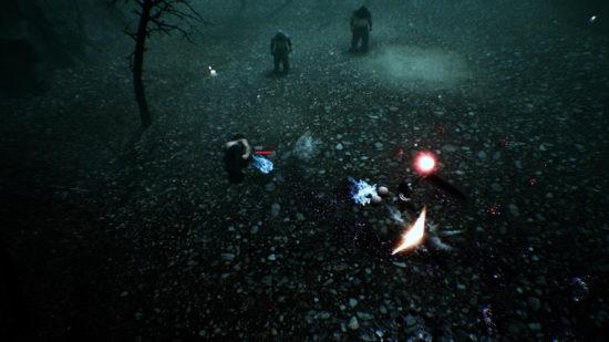 PSVR向け三人称視点のアクションRPG「泠:落陽孤行」配信開始、氷の野原や森林などを探索できる