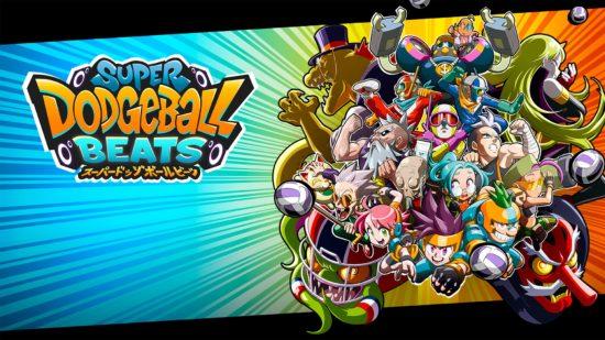 リズムゲームとドッジボールが合体したゲーム「スーパードッジボールビーツ」が11月7日にSwitchとPS4にて配信