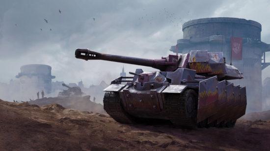 "「World of Tanks Blitz」に、シミュレーションRPG「戦場のヴァルキュリア4」の戦車""ヴルカン""が参戦"