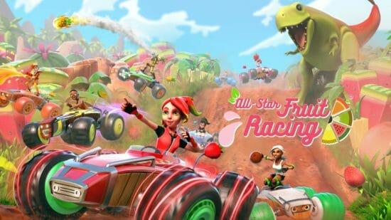 カートレースゲーム「オールスター・フルーツ・レーシング」が11月28日から発売開始