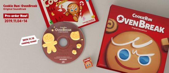 「クッキーラン:オーブンブレイク」オリジナルサウンドトラックを11月15日に発売