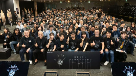 「DEATH STRANDING」発売記念イベントを開催、小島監督のギネス世界記録認定も
