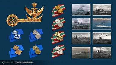 PC向け「World of Warships」アップデート、新国家イタリアが正式に追加