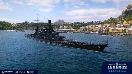 「World of Warships: Legends」11月25日よりブラック艦艇が登場