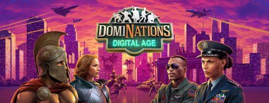 歴史ストラテジーゲーム「ドミネーションズ -文明創造-」に新時代「デジタル時代」が登場!
