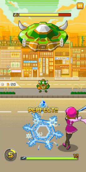 バッティングゲームにバトル要素を追加した新感覚ゲーム「バッティングヒーロー」配信開始!