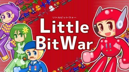 短時間で遊べるRTS「Little Bit War」、ニンテンドーeショップにて配信開始