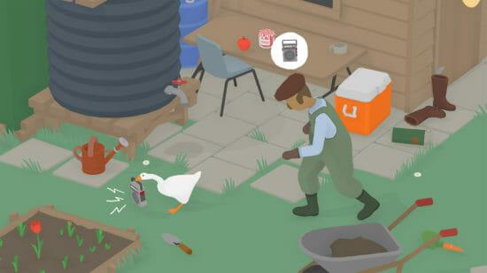 「Untitled Goose Game ~いたずらガチョウがやって来た!~」が12月17日、PS4/Xbox One向けに配信開始