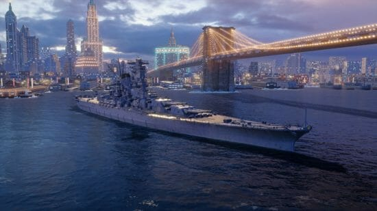 PS4/Xbox One向け「World of Warships: Legends」に期間限定で戦艦「大和」が登場