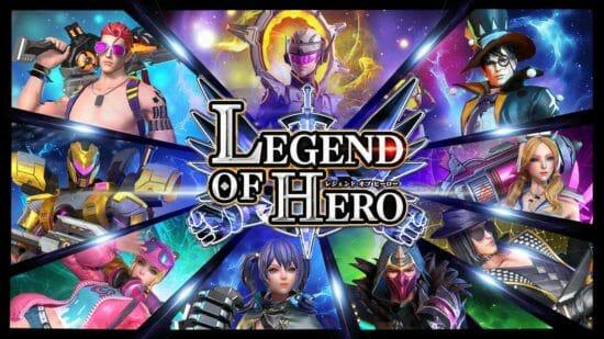戦いの舞台は世界へ!「LEGEND OF HERO」世界中のプレイヤーとの対戦が実現
