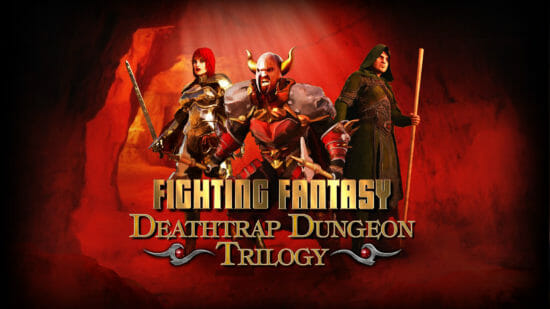 ゲームブック「死のワナの地下迷宮トリロジー」がスイッチに登場!世界観をカードゲームベースのRPGで楽しもう