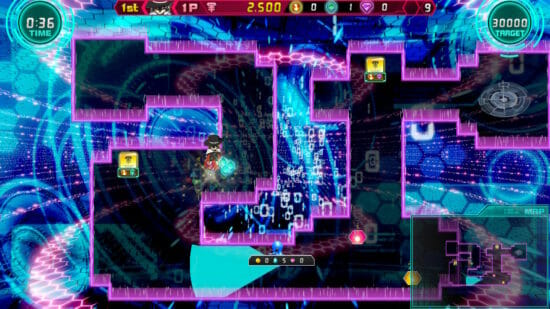 「大乱盗!ジュエルウォーズ」スイッチにて1月23日発売、仮想世界でジュエルを集めて脱出を目指せ!