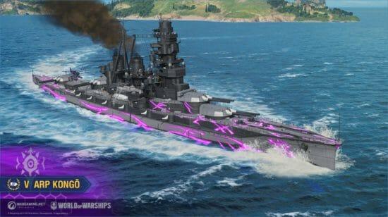 「World of Warships」「蒼き鋼のアルペジオ  -アルス・ノヴァ-」とのコラボ艦艇とコラボ艦長が登場!
