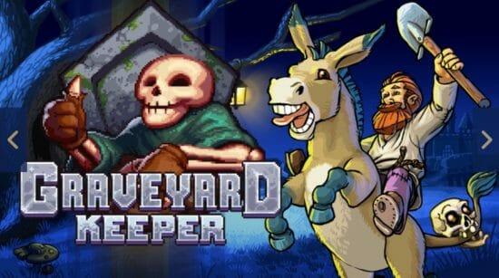 墓守りライフをいつでもどこでも。スイッチ版「Graveyard Keeper」2月6日配信