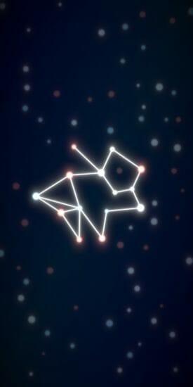 タップだけの簡単操作!自分だけの星座をつくれるゲーム「星つなぎ」配信開始