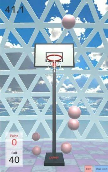 フリースローを決めろ!カジュアルバスケットゲーム「FreeThrow」配信開始