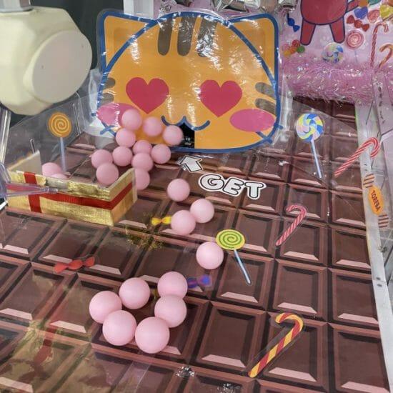 クレーンゲームアプリ「トレバ」にバレンタイン限定セール台が登場!