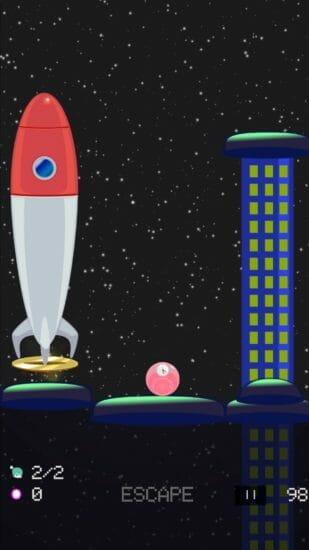 ふわふわして宇宙人を救出するアクションゲーム!「SWISCAPE」配信開始