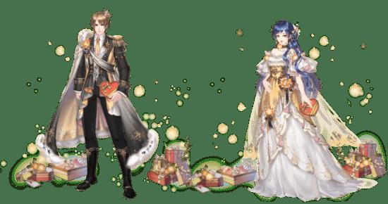 「謀りの姫-TABAKARI NO HIME-」バレンタインキャンペーン開催、SSRコーデも登場!