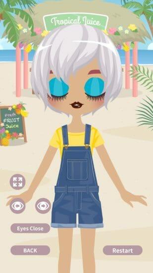 キュートな女の子をメイクアップ!「Cute Eyes Maker」配信開始