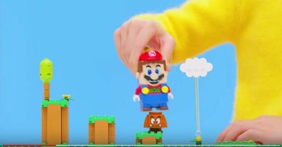 「レゴ スーパーマリオ」現実世界に自由にコースを組み立てて楽しめる新しいマリオ!