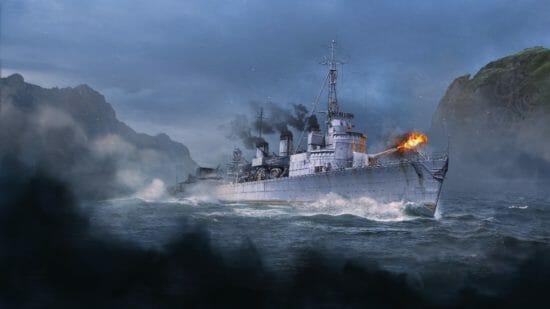 「World of Warships」スウェーデンの駆逐艦がアーリーアクセスで登場!