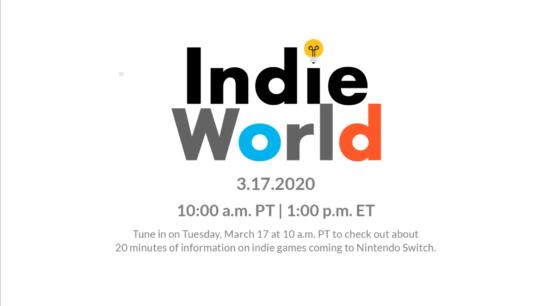 任天堂、インディーゲームを紹介する映像を3月18日午前2時ごろ配信!