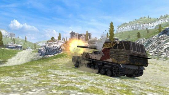 「World of Tanks Blitz」4車輛の日本駆逐戦車が新たに参戦!