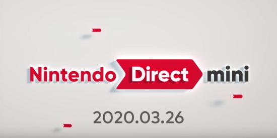 Switch向けソフトの最新情報をお届け!「Nintendo Direct mini 2020.3.26」公開