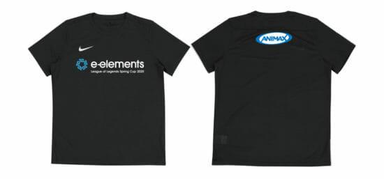 アニマックスのeスポーツイベント「League of Legends Spring Cup 2020」、teammax(Nike商品)による大会公式ユニフォーム協賛が決定!