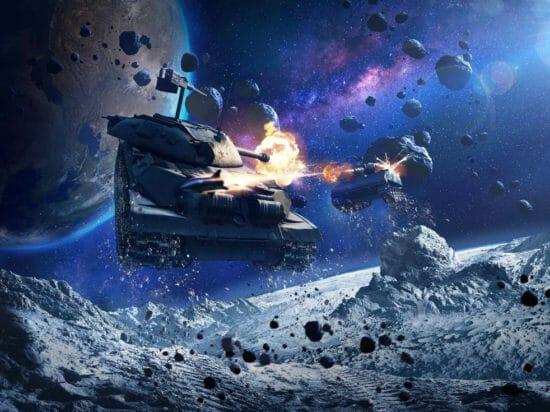 新しい戦場の舞台は宇宙!?「World of Tanks Blitz」低重力モードが実装!