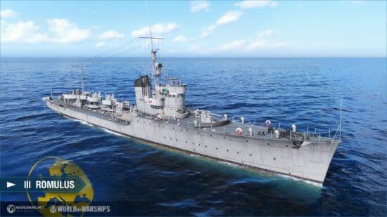 「World of Warships」ヨーロッパの技術ツリーにて全駆逐艦が研究可能に!