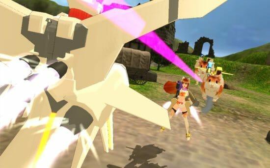 美少女AIが戦う「エレクトリアコード」、装備と衣装のカラーを自由にエディット可能に!