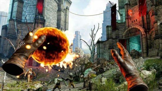強大な魔道士になれる!PSVR向けアクションADV「ザ・ウィザーズ」配信開始!