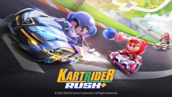 ネクソン、基本無料のカートゲーム「KartRider Rush+」をグローバル向けに配信開始!