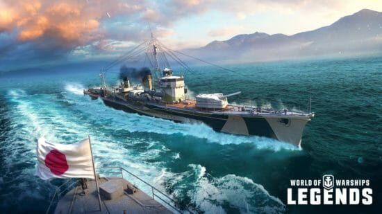 「World of Warships: Legends」プレミアム駆逐艦「夕立(Yūdachi)」が登場!