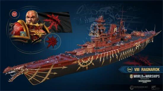 「World of Warships」×「WARHAMMER 40,000」!コラボ艦長やコラボ艦艇が登場!