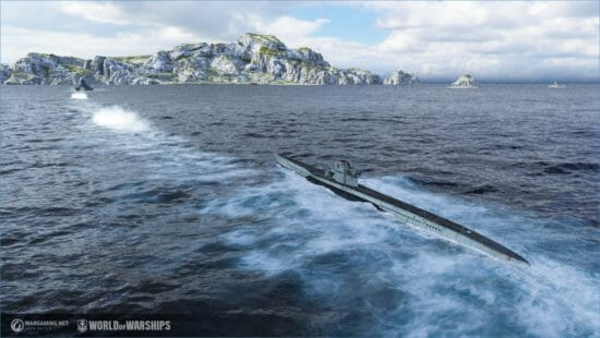 「World of Warships」新ツリー「潜水艦」が期間限定で登場!