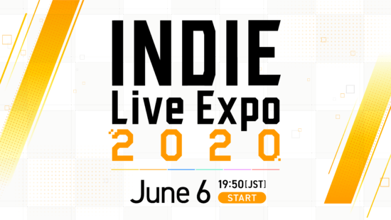 本日6月6日19時50分放送!「INDIE Live Expo 2020」最新情報公開!
