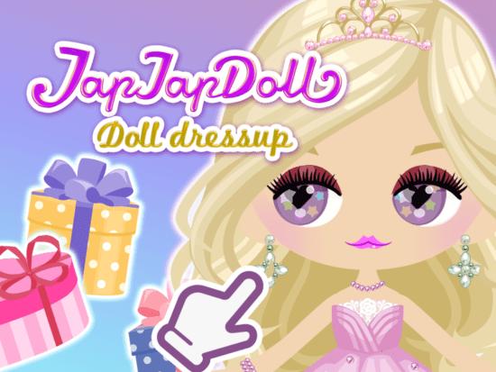 人形をかわいくドレスアップ!「TapTapDoll」がアプリストアで配信開始!