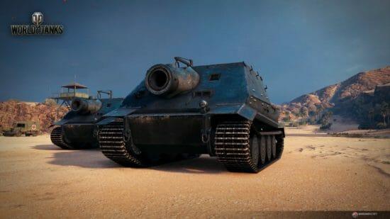 「World of Tanks」期間限定でユニークな車輌「シュトルムティーガー」が登場!