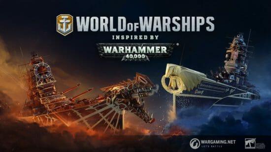 「World of Warships」と「WARHAMMER 40,000」が初の同時コラボ開始!