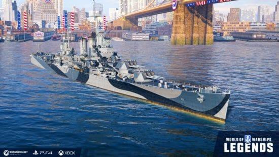 アメリカ巡洋艦がアーリーアクセスで登場!「World of Warships: Legends」×「WARHAMMER 40,000」コラボ開始!