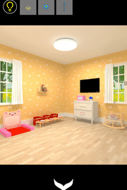 Baby Room(ベビールーム) 攻略 その3(蝶の色確認~クレヨン入手まで)