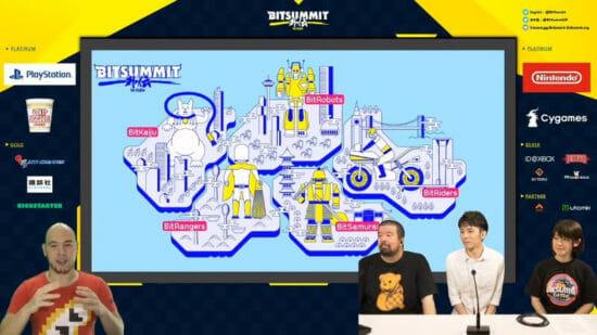 オンラインで開催された「BitSummit Gaiden」Discord会場への来場者数、公式放送の再生数を発表