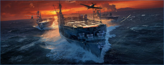 「World of Warships」ドイツ空母がアーリーアクセスで登場!