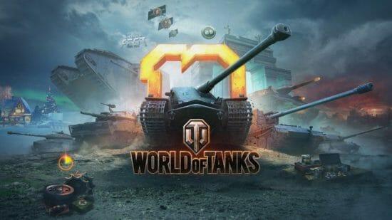 「World of Tanks」サービス開始10周年記念イベントを開催!