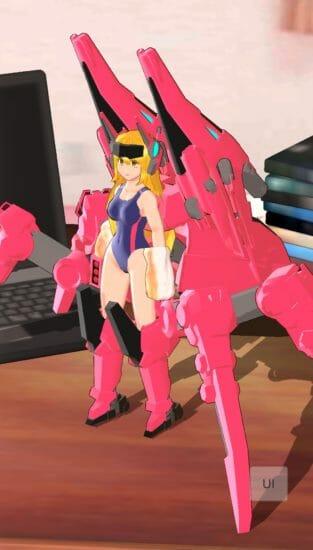 水着装備がいっぱいだ!AI美少女が戦う「エレクトリアコード」で夏を楽しもう!